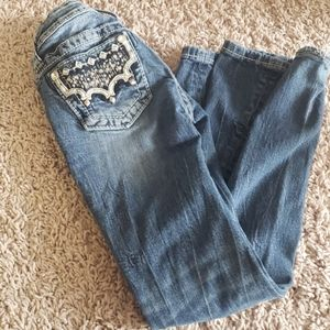 Miss Me girls jeans size 8